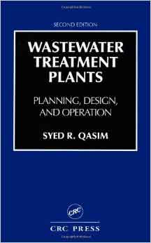 Wastewater Treatment Plants QASIM Book
